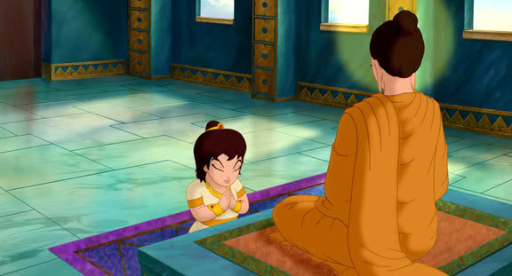 thailand�s first animated film on the lord buddha life of