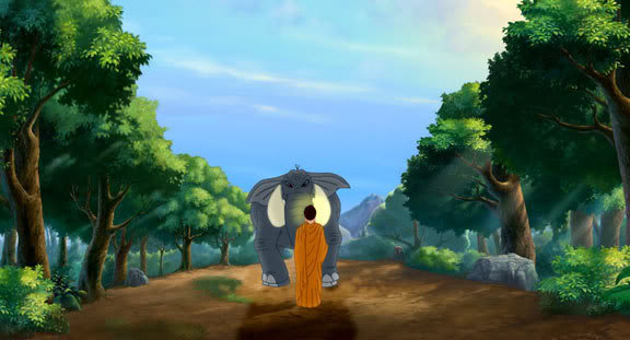 Lord Buddha Animation